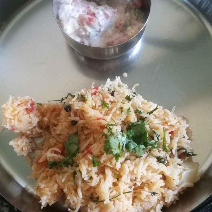 How to make One pot biryani with raita