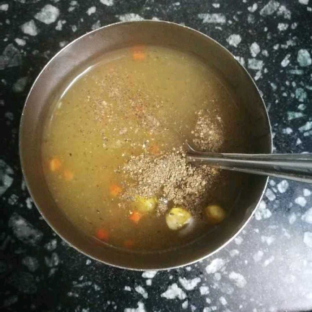 How to make Corn carrot soup
