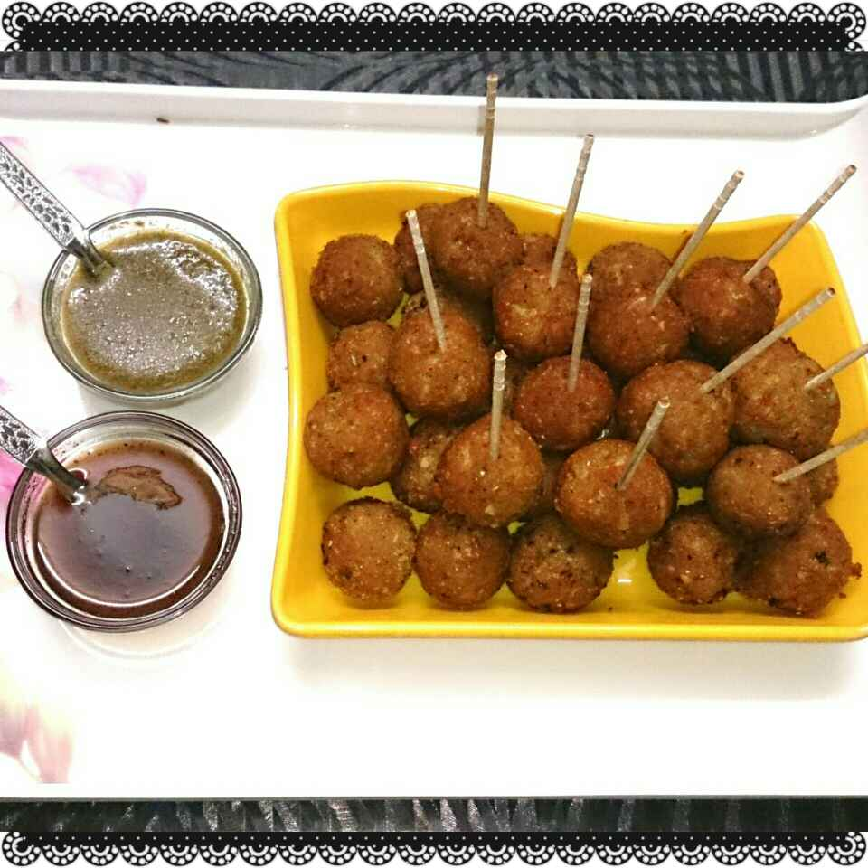 Photo of Left over rice and bread ki paneer balls by Neelam Gupta at BetterButter