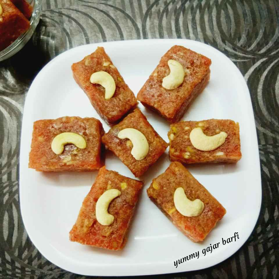 Photo of Gajar ki barfi by Neelam Gupta at BetterButter
