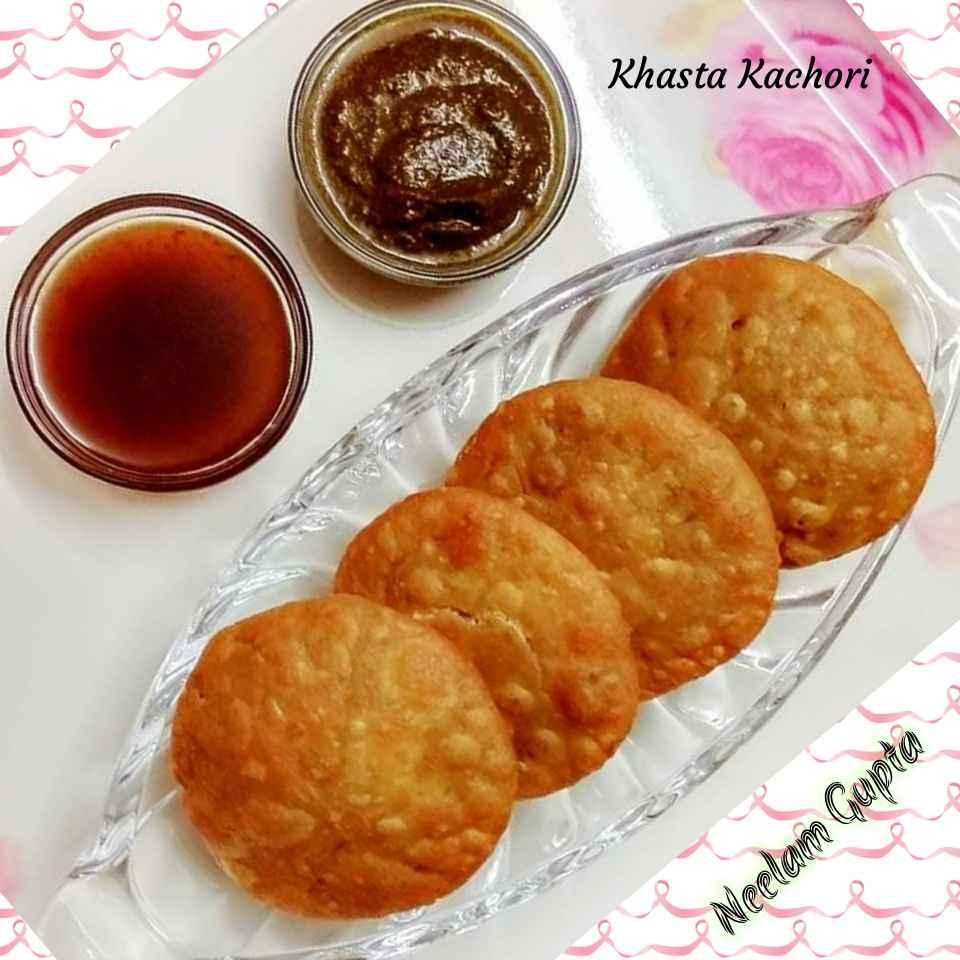 How to make Aalu paneer ki khasta kachori