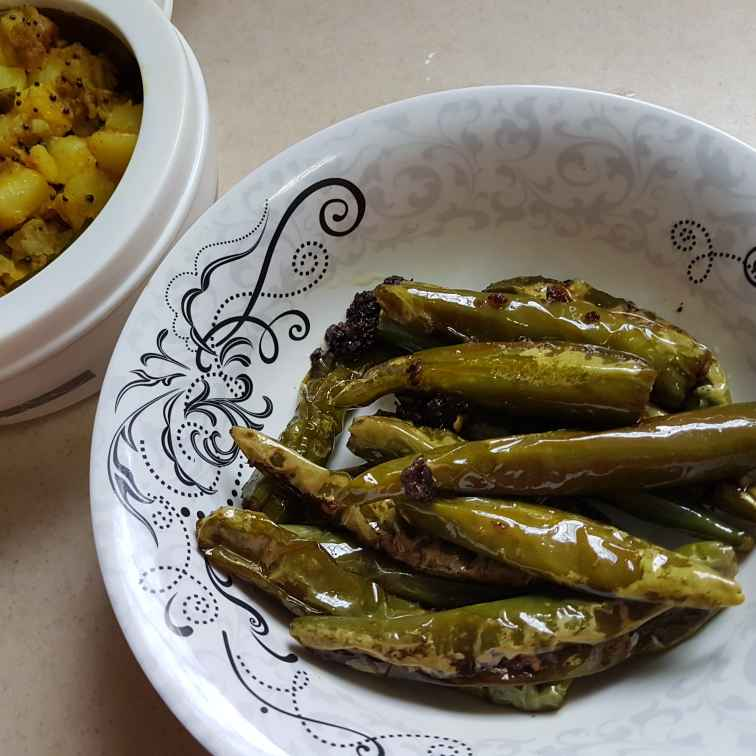 Photo of Stuffed green chilli by Neelam Singh at BetterButter