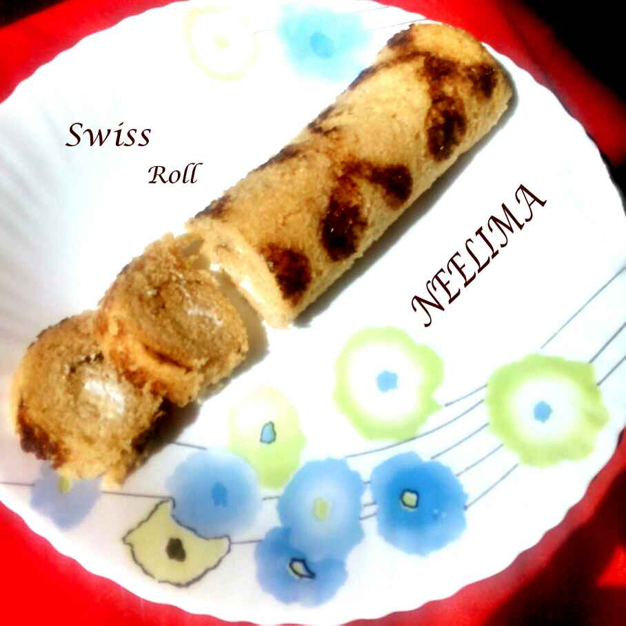 Photo of Printed swiss roll by Neelima Rani at BetterButter