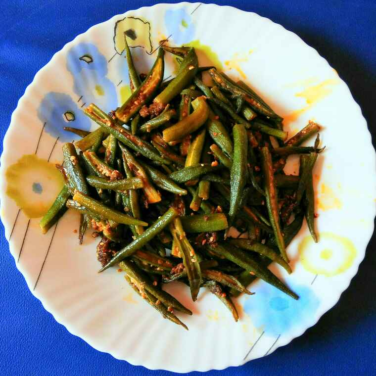 How to make Karari bhindi