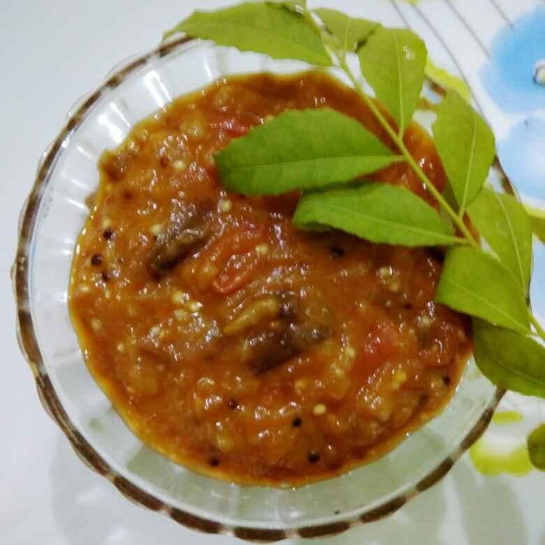 Photo of Baingun tomato chutney by Neelima Rani at BetterButter