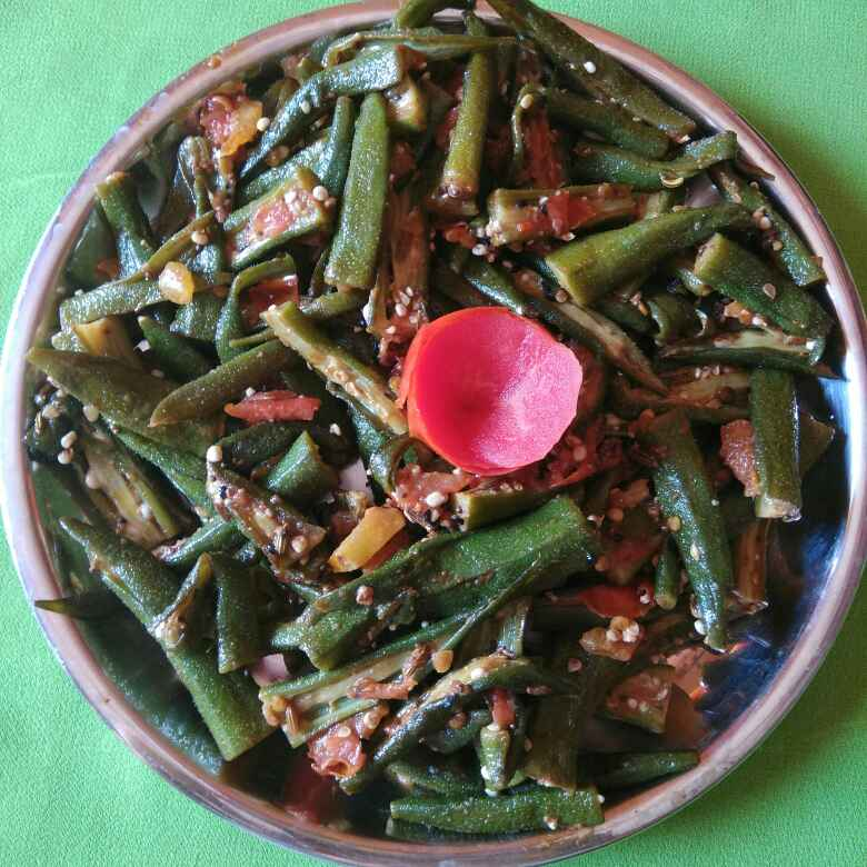 How to make Achari bhindi