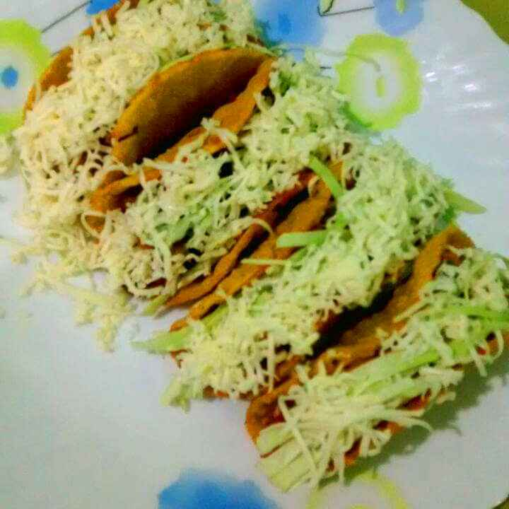 How to make Veg mexican been tacos