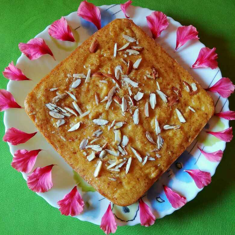 Photo of Aam sooji cake by Neelima Rani at BetterButter