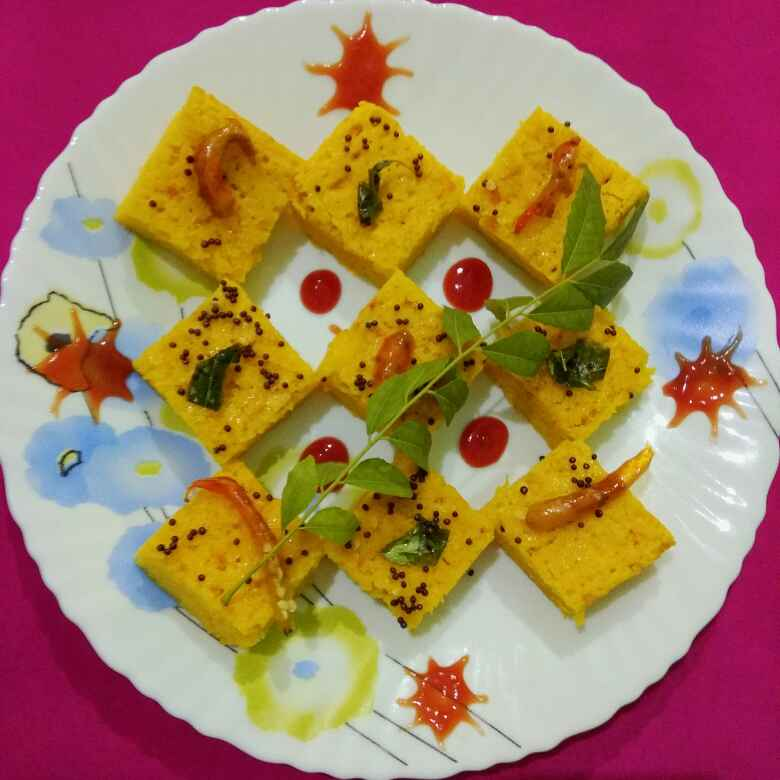 Photo of Instant khaman Dhokla and microwave by Neelima Rani at BetterButter