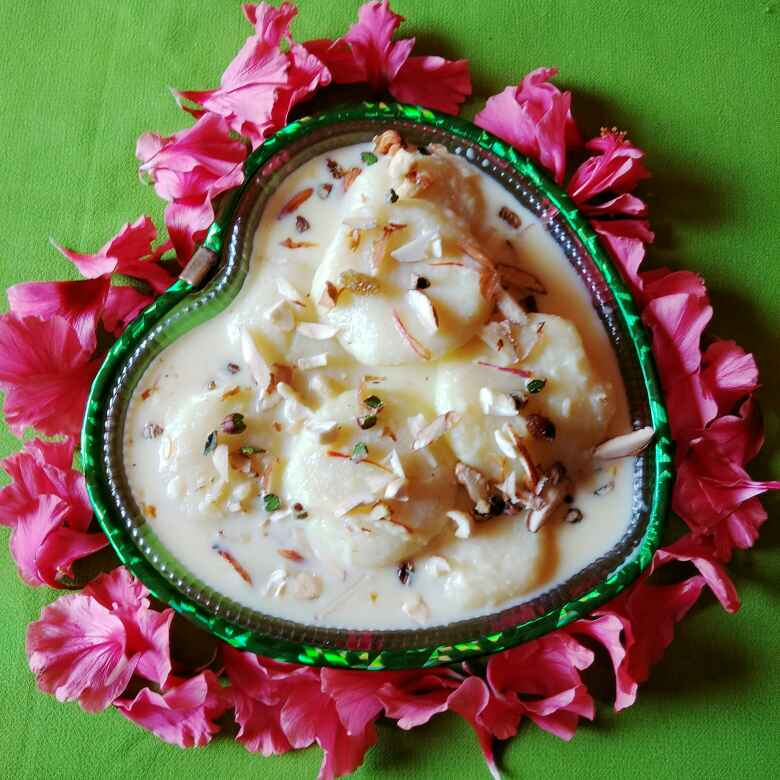 How to make Rice rasmalai