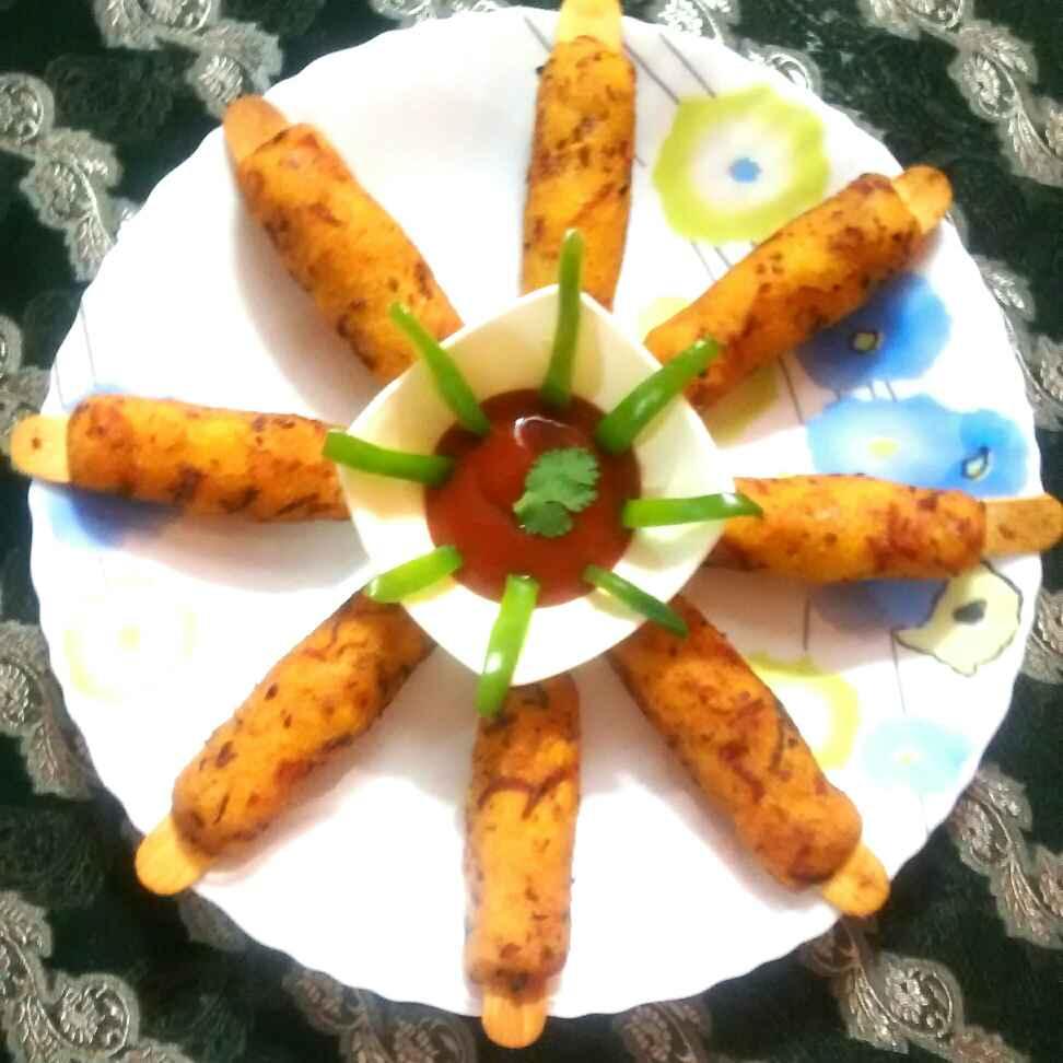 Photo of Mix veg semolina kabab by Neelima Rani at BetterButter