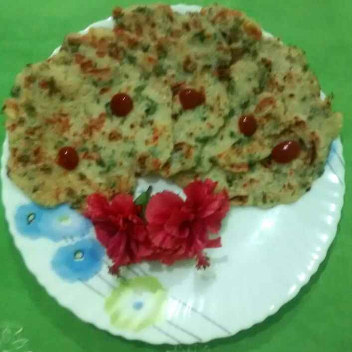 Photo of Cucumber tomato pancake by Neelima Rani at BetterButter