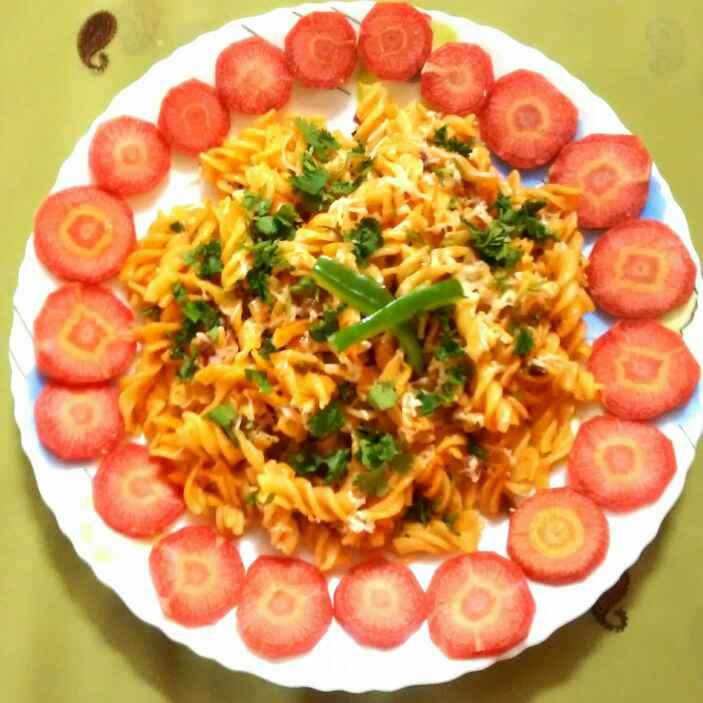 Photo of Tomato cheesy pasta  by Neelima Rani at BetterButter