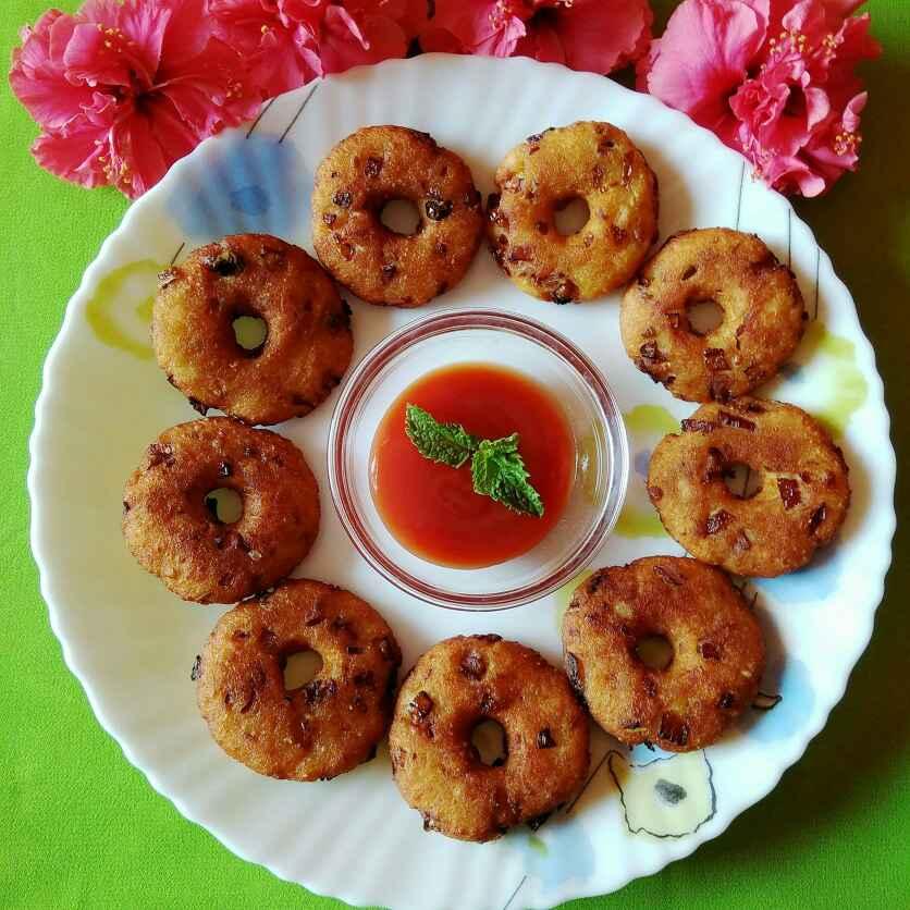 How to make Bread medu vada