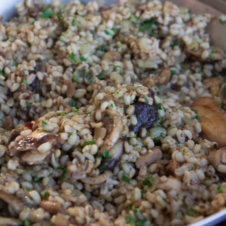 How to make Mushroom and Barley Risotto