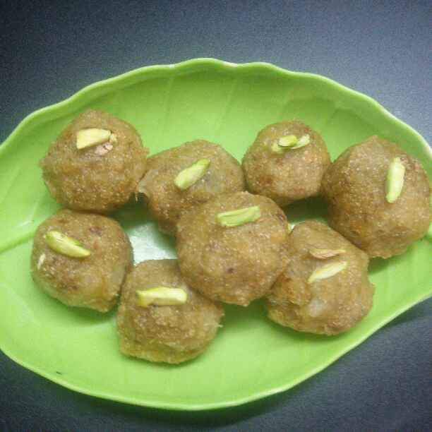 Photo of Lauki mix laddu. by Neelu Chettri at BetterButter