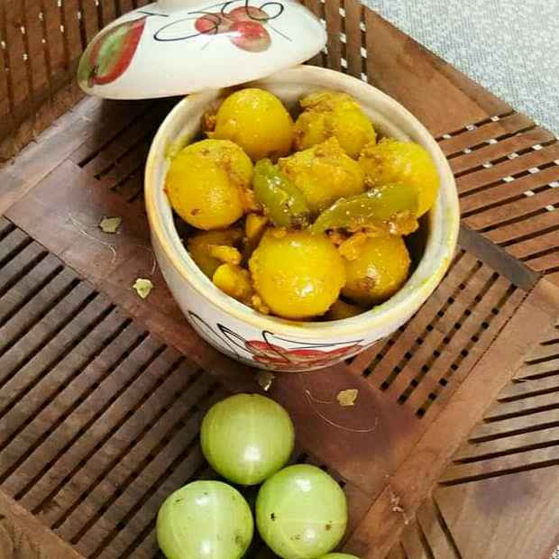 Photo of Gooseberry pickle by Neelu Dua at BetterButter