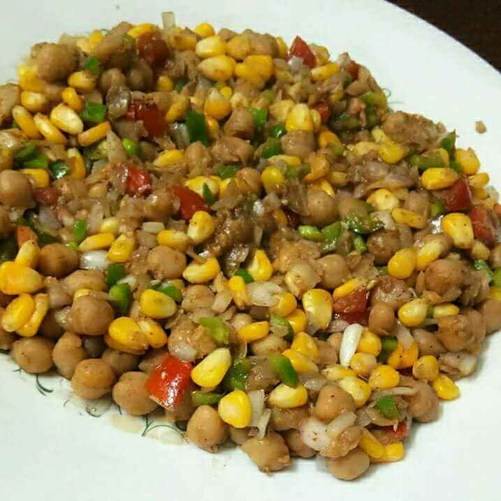 Photo of Chana Corn salad by Neelu Dua at BetterButter