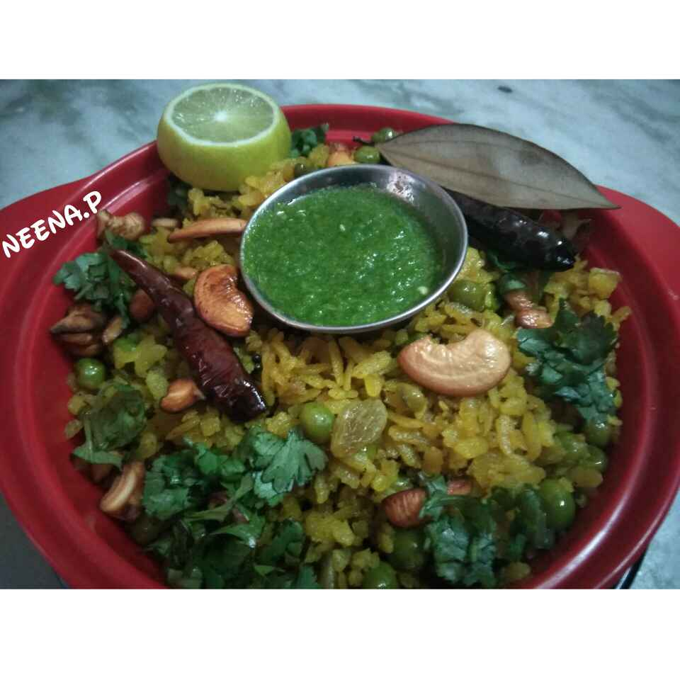 How to make Banarsi Matar Chuda (Poha)