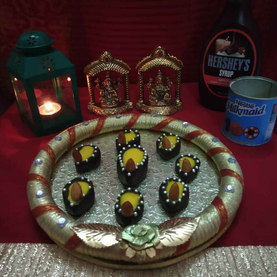 How to make Choco Diya