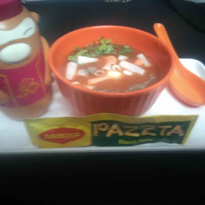 Photo of Tomato Pasta Soup by Neena Pandey at BetterButter