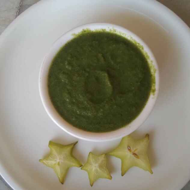 Photo of Star fruit (Kamrakh) Chatni by Neena Pandey at BetterButter