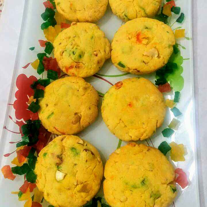How to make Tuti fruti cookies with a secret ingredient
