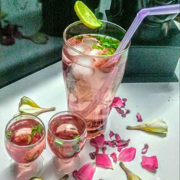 Photo of Rose mint lemonade by Neeru Goyal at BetterButter