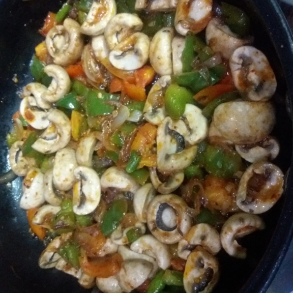 How to make mushrooms stir fried