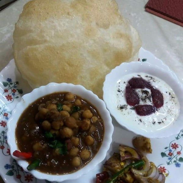 How to make Chole bhature