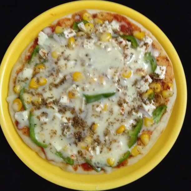 How to make Sweet corn Pizza
