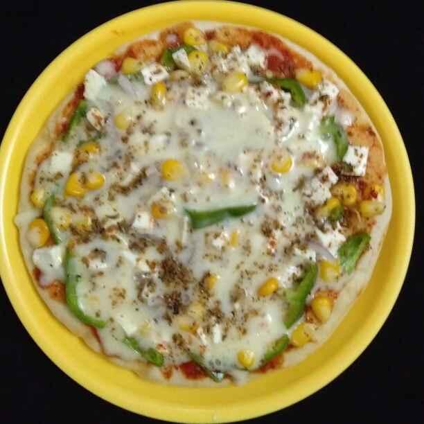 Photo of Sweet corn Pizza by Neeru Gupta at BetterButter