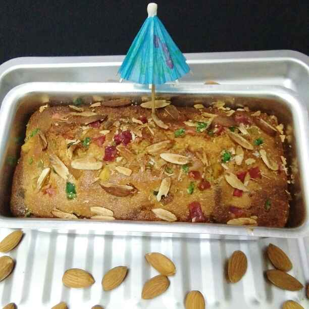 How to make Dry fruit loaf cake