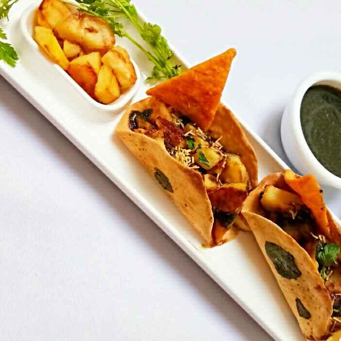 How to make चपाती टाकोस