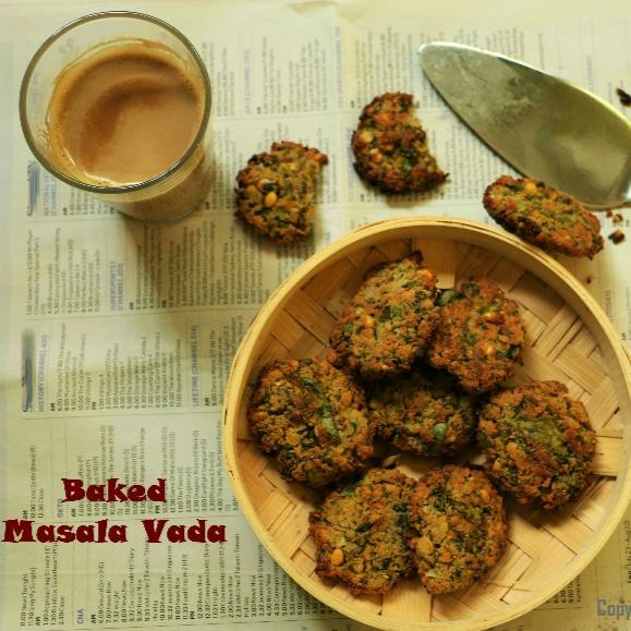 How to make Baked Masala Vada