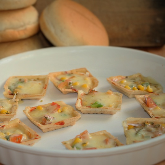Photo of Canapes Pizza cups by Neeru Srikanth at BetterButter