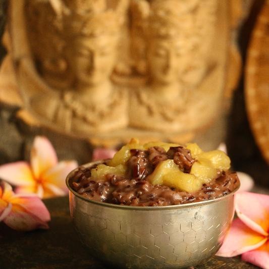 How to make Balinese Black Rice Pudding