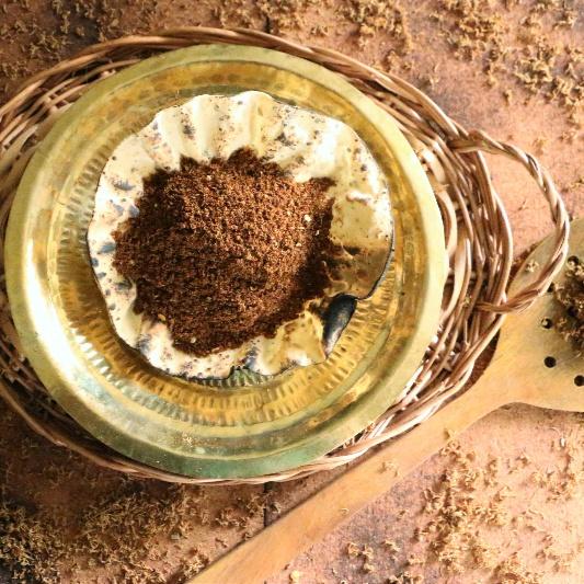 How to make Dried Neemflower Powder   Vepampoo Podi
