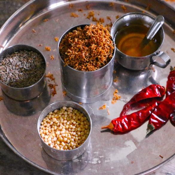 How to make Dried Neemflower Powder | Vepampoo Podi