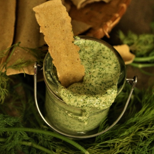 How to make Dill Leaves & Parmesan Dip