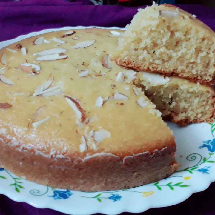 Photo of Semolina cake in pressure cooker by Neeta Mohite at BetterButter