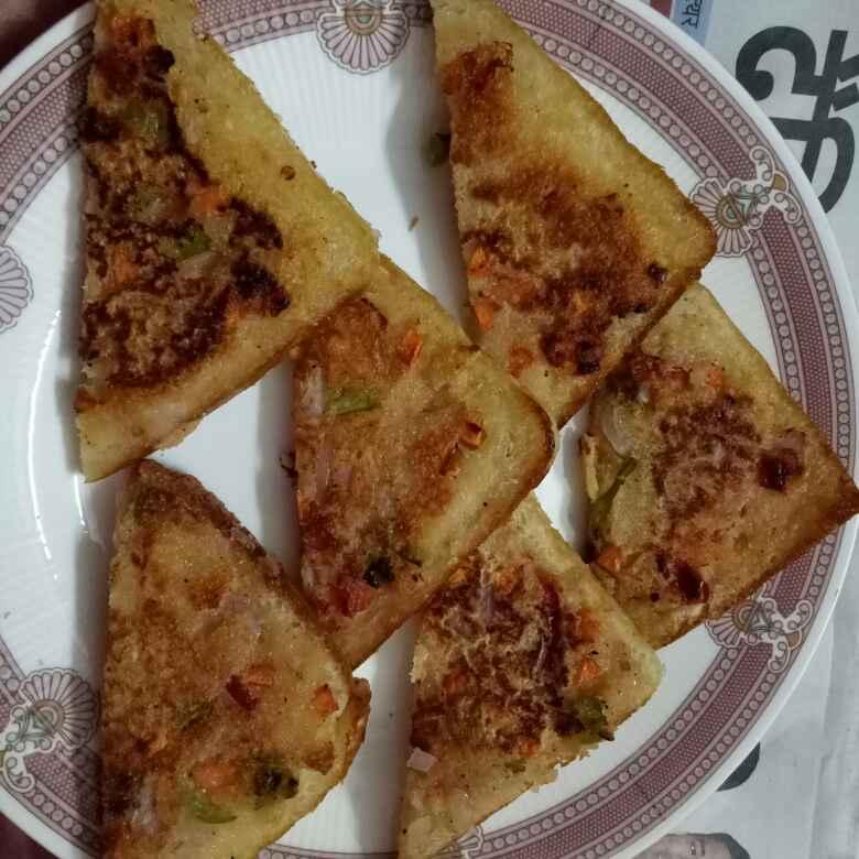 How to make Dahi suji toast