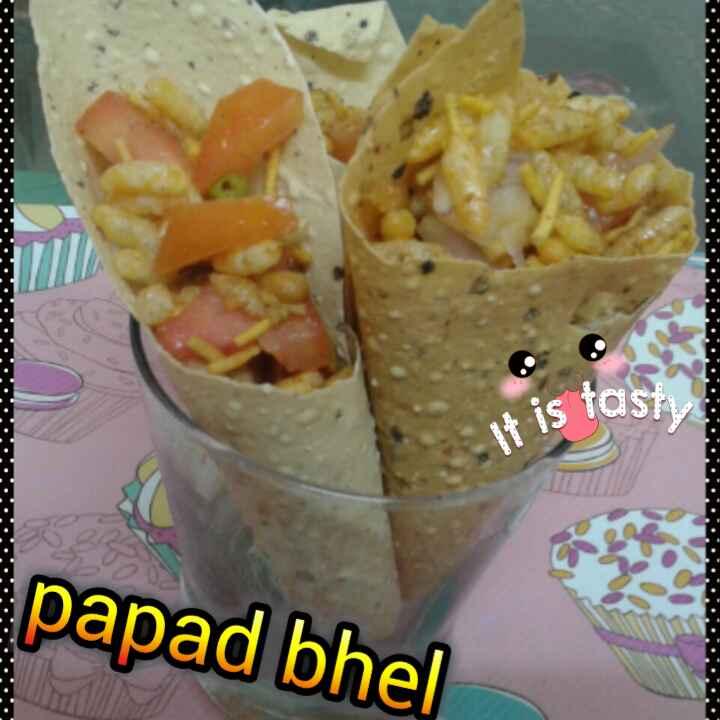 Photo of Papad bhel by neetu chawla at BetterButter