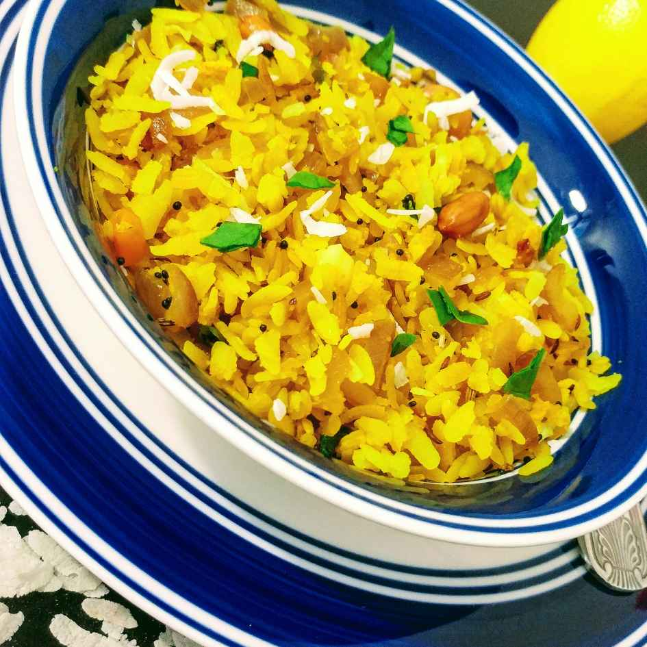 Photo of Kanda poha by Neetu Gupta at BetterButter