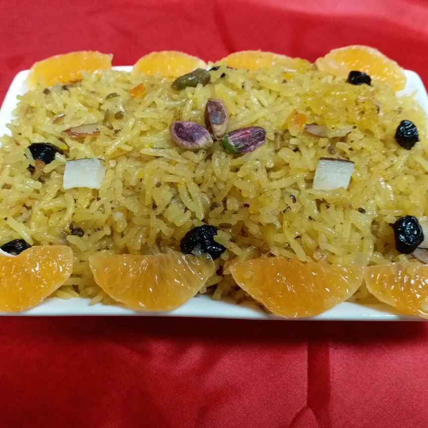 How to make Zesty Sweet Rice
