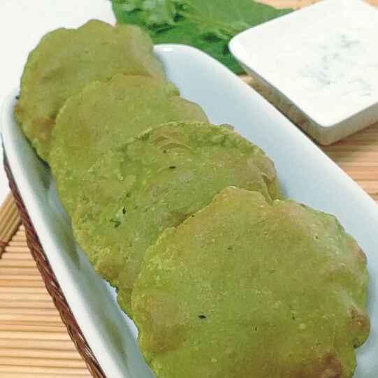 How to make Palak puri