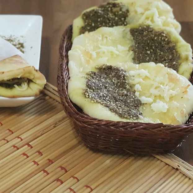 How to make Zaatar Cheese Manakeesh