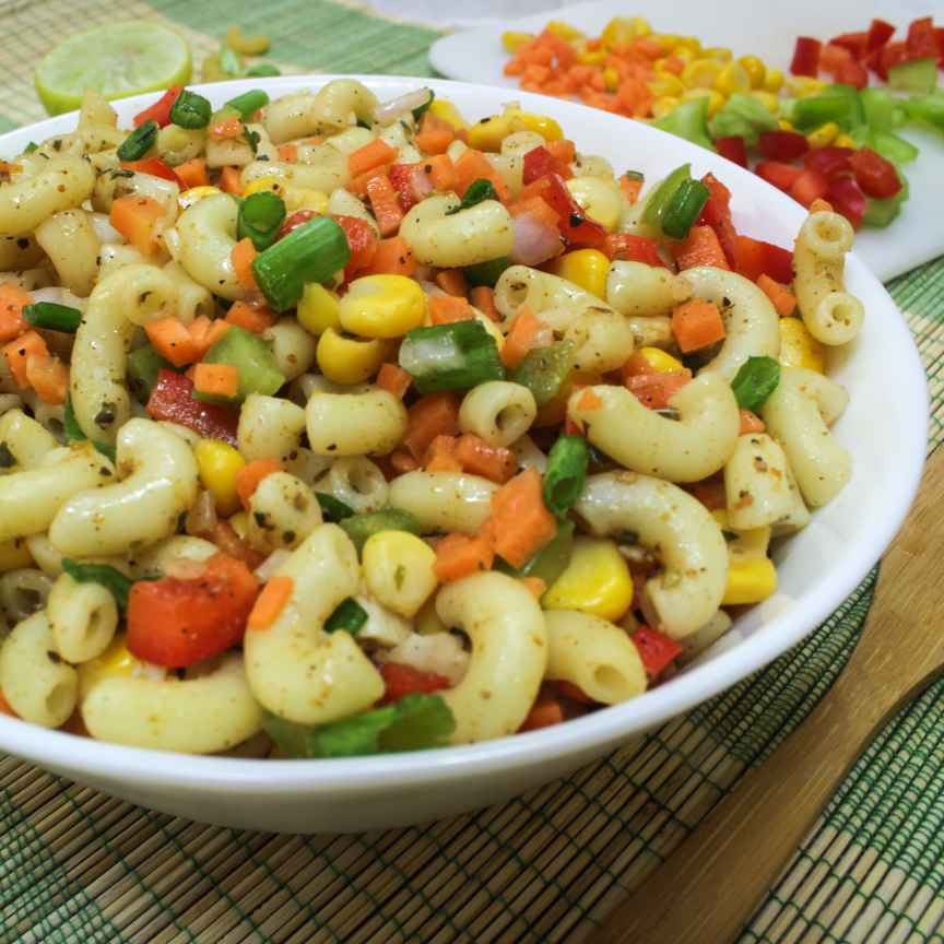 Photo of Pasta Corn Salad by Neha Pahilwani at BetterButter