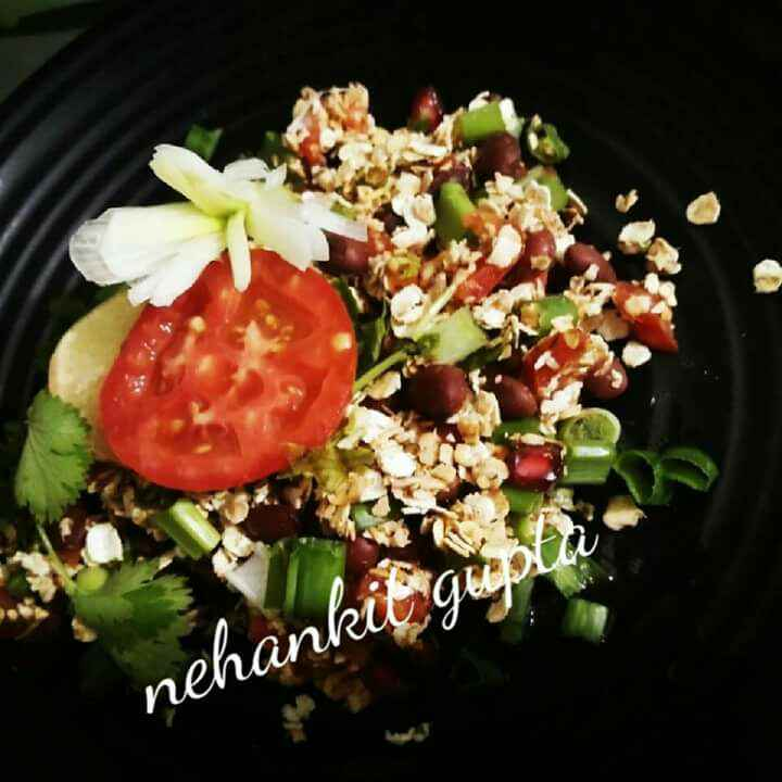 Photo of Oats Kidney Bean Salad by Neha Ankit at BetterButter