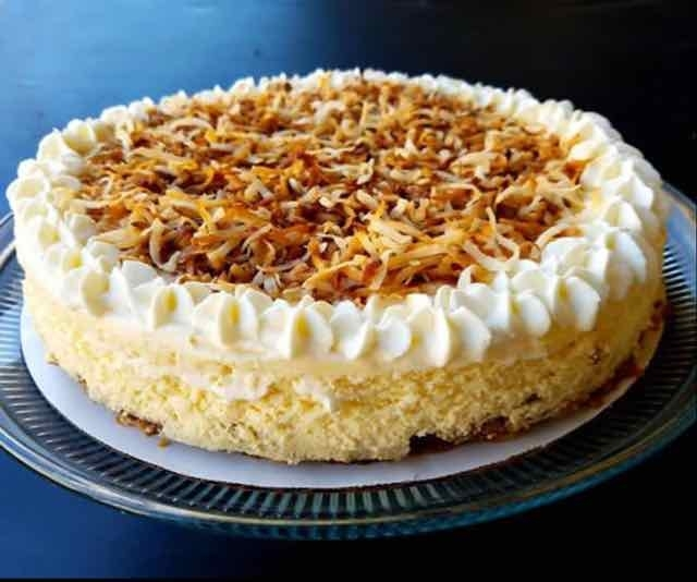 How to make Roasted Coconut Cheesecake